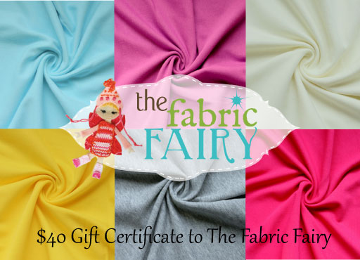 The Fabric Fairy Giveaway via lilblueboo.com