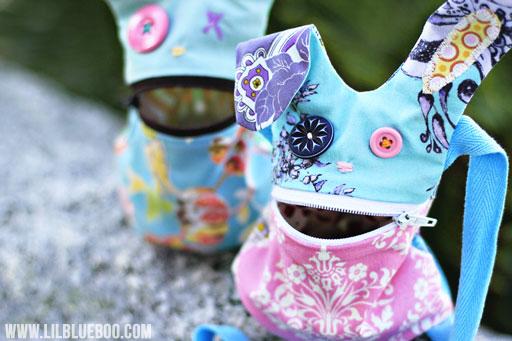 homemade easter crafts via lilblueboo.com
