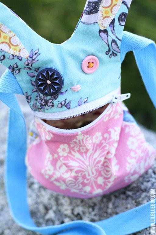 easter bunny bag craft via lilblueboo.com