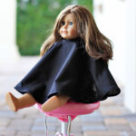 Doll Sized Salon Cape