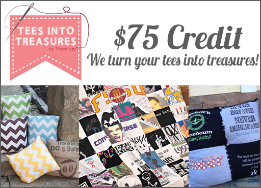 Tees into Treasures via lilblueboo.com