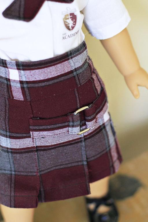 "Uniform for American Girl or 18"" doll via lilblueboo.com"