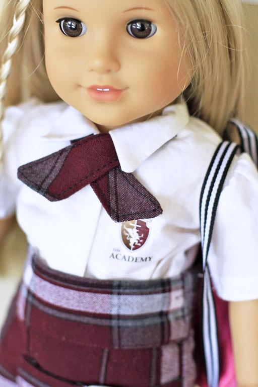 American Girl Backpack (girl scout doll uniform) via lilblueboo.com