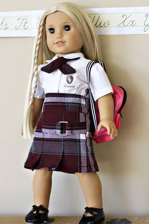Mini-me doll The Academy of PDCPC via lilblueboo.com