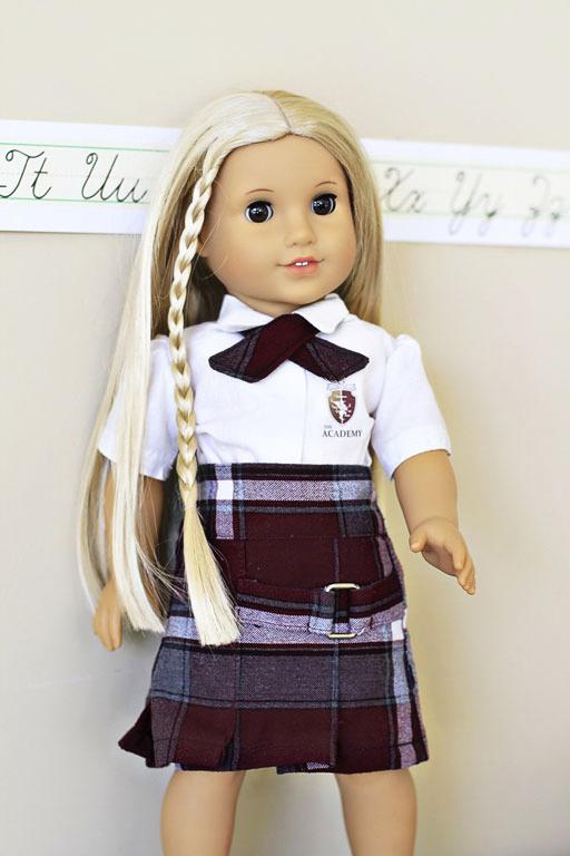 American Girl Doll Julie via lilblueboo.com