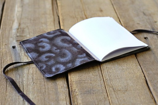 diy notebook or journal via lilblueboo.com