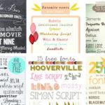 10 Free Font Roundups