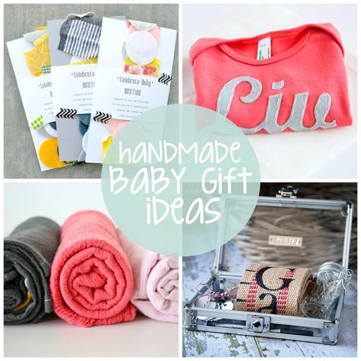 DIY Handmade Baby Gift Ideas via lilblueboo.com