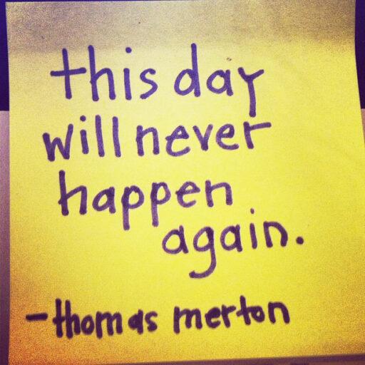 thomas merton quote (The Cancer Chronicles) via lilblueboo.com