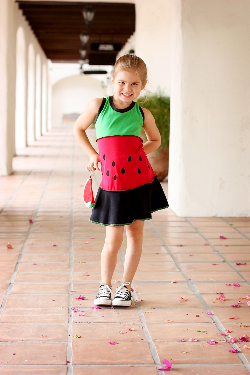 Cute summer sewing dresses for kids - summer sewing pattern