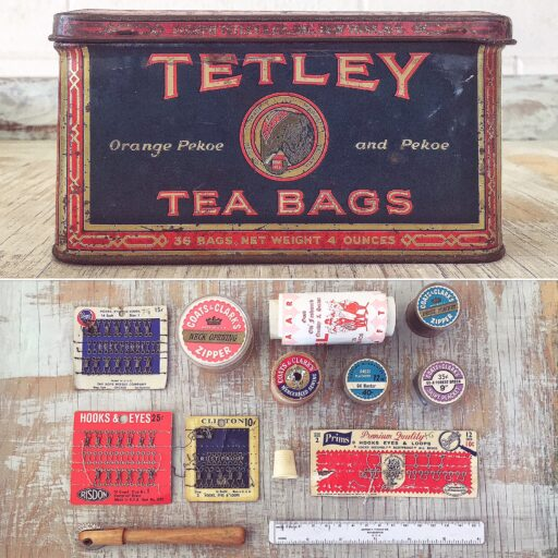 Vintage and antique sewing supplies