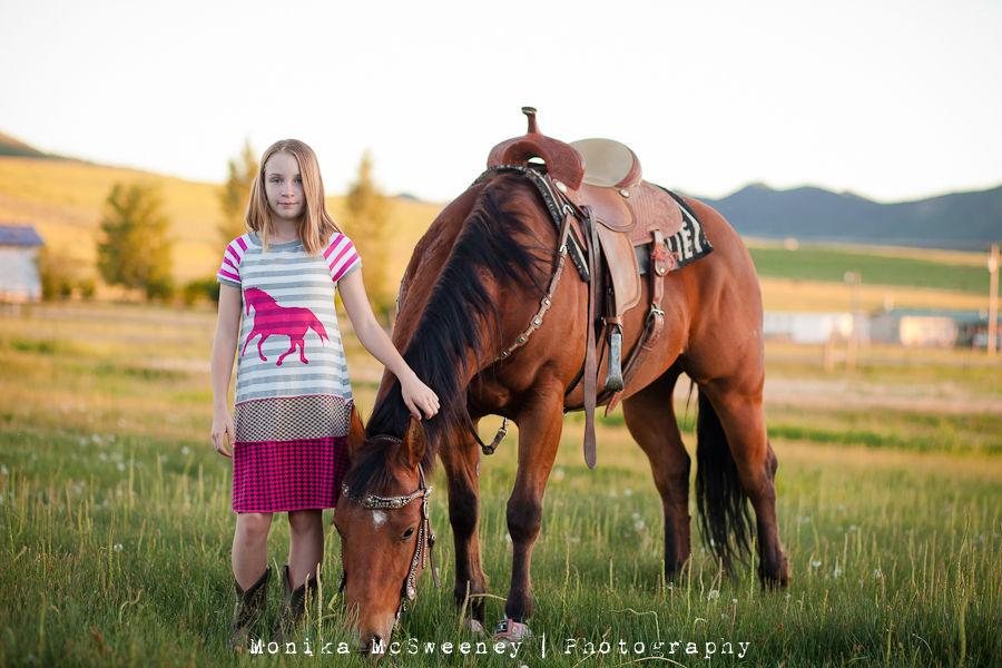 The June Dress of the Month for Horse Lovers via lilblueboo.com