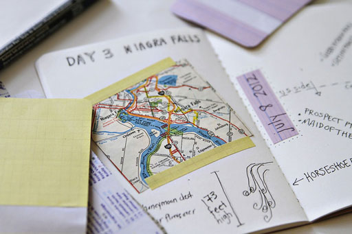 Moleskine Travel Journal for the family trips via lilblueboo.com