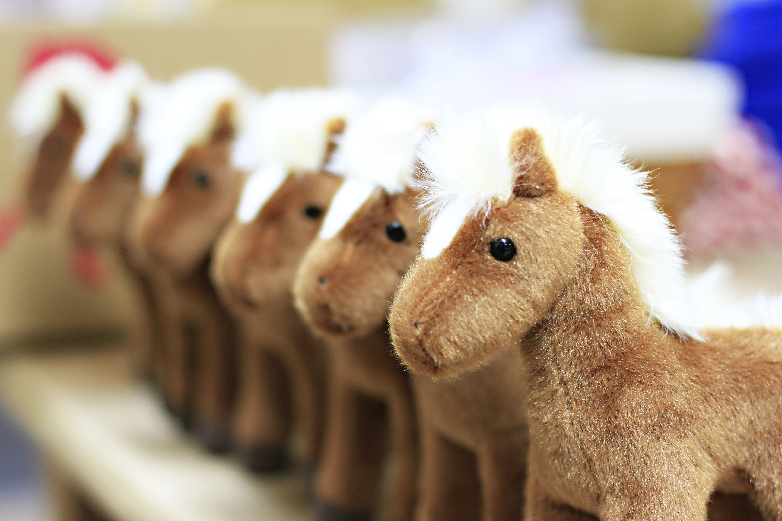 The June Dress of the Month box includes a plush horse via lilblueboo.com