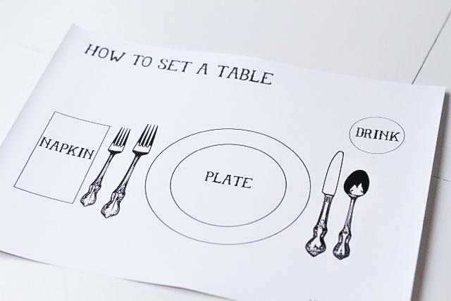 how do u set a table | My Web Value