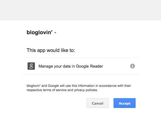 Step 2: How to move google reader subscriptions to bloglovin' via lilblueboo.com