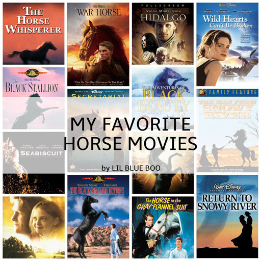 My top favorite horse movies by Lil Blue Boo