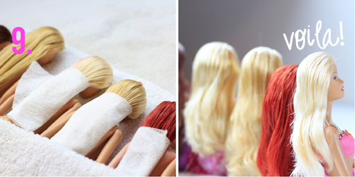 Strange How To Detangle Doll Hair Tutorial Hairstyles For Women Draintrainus