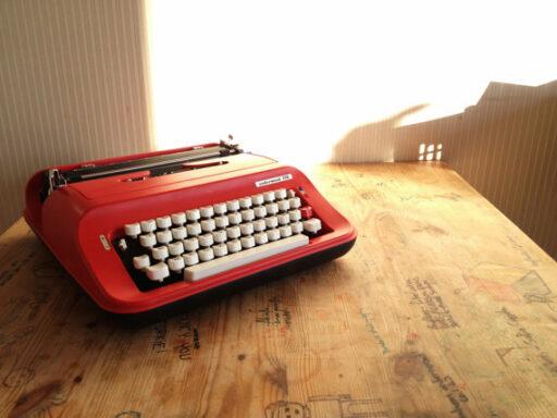 Typewriter on Etsy via lilblueboo.com