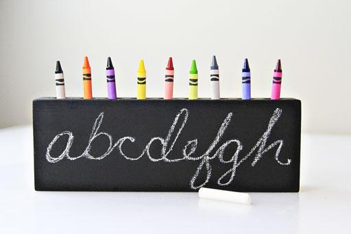 chalkboard paint project ideas via lilblueboo.com