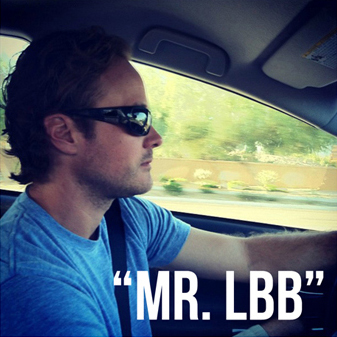 "Brett Hackshaw aka ""Mr. LBB"" of Lil Blue Boo"