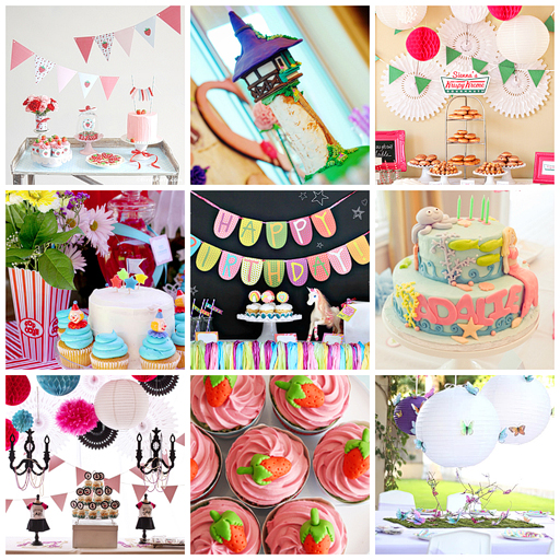 Pretty Party ideas for girls via lilblueboo.com #parties #party