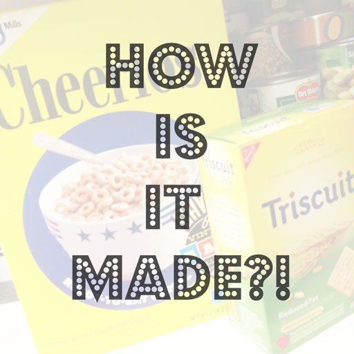 how triscuits and cheerios are made via lilblueboo.com
