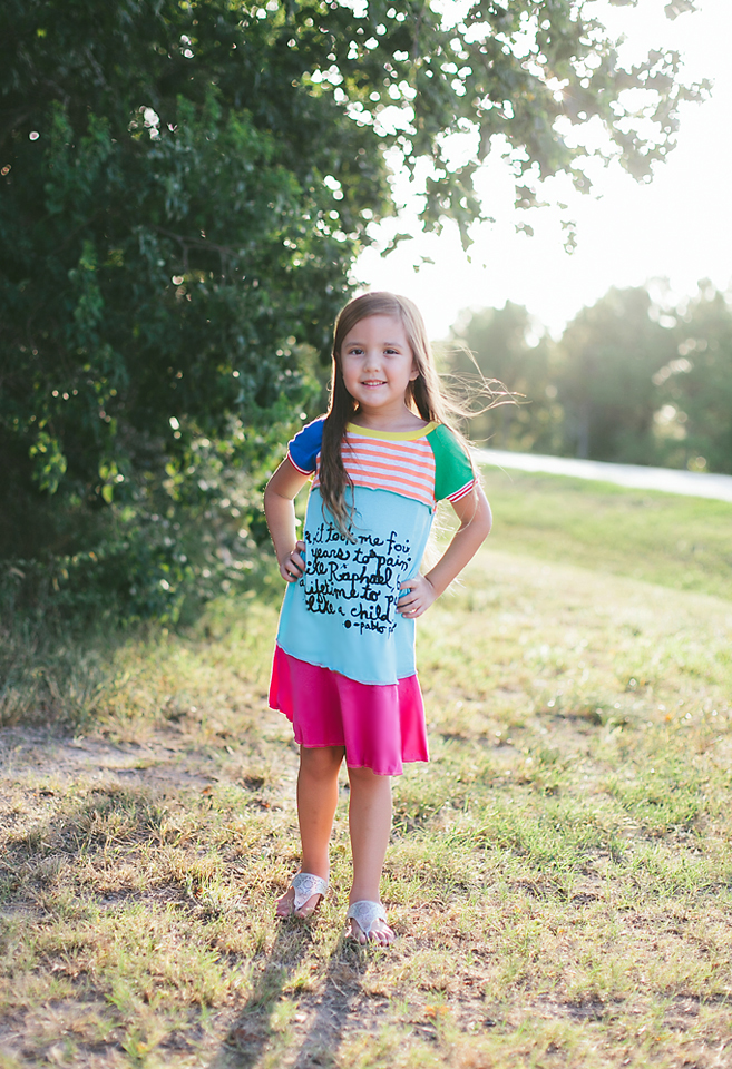 The Lil Blue Boo August Dress of the Month via lilblueboo.com Photography by Christina Anglum