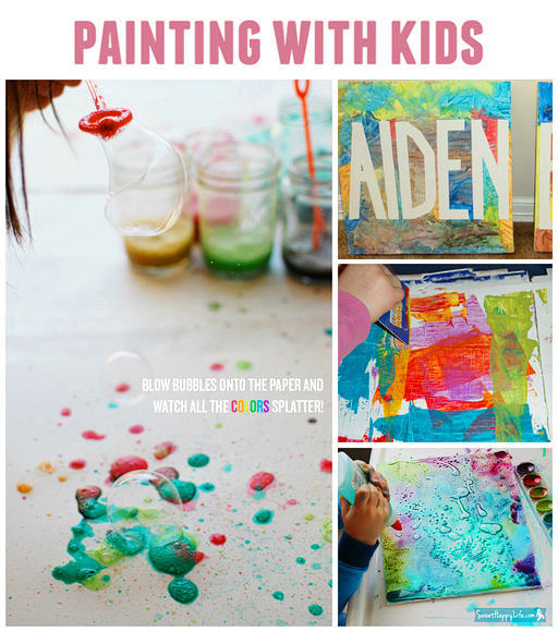 10 DIY Painting Activities For Kids