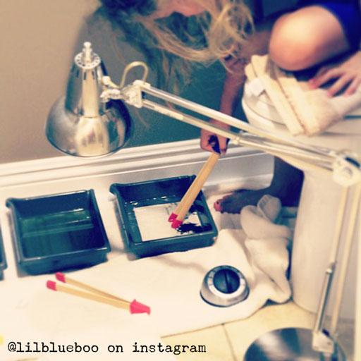 Developing and Printing Pinhole Photos via lilblueboo.com #photography #darkroom #pinhole #pinholecamera