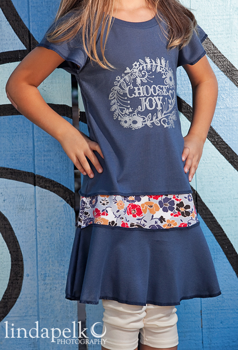 Choose Joy! Lil Blue Boo September 2013 Dress of the Month via lilblueboo.com