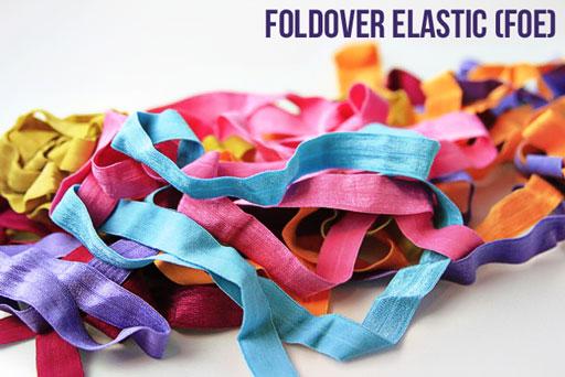 where to buy foldover (FOE) elastic for shoe laces via lilblueboo.com