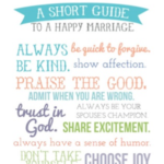 Happy Marriage Printable