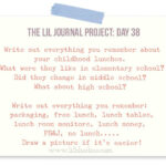 The Lil Journal Project Day 38