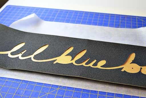 Custom grip tape longboard  via lilblueboo.com #skateboard #diy #gift #handmade