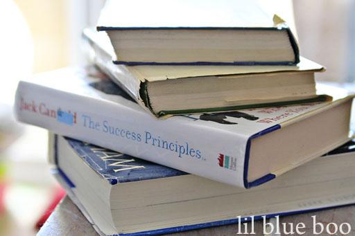 Ideas for using Thrift Store Books via lilblueboo.com