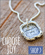 Choose Joy Necklace #choosejoy