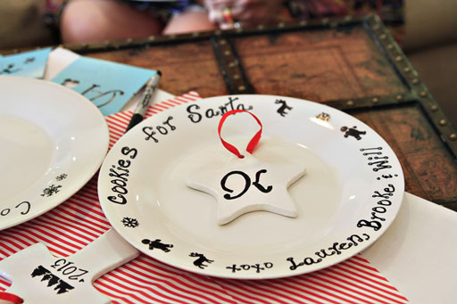 Sharpie Marker Plate Craft Project for a Pinterest Party via lilblueboo.com #sharpie