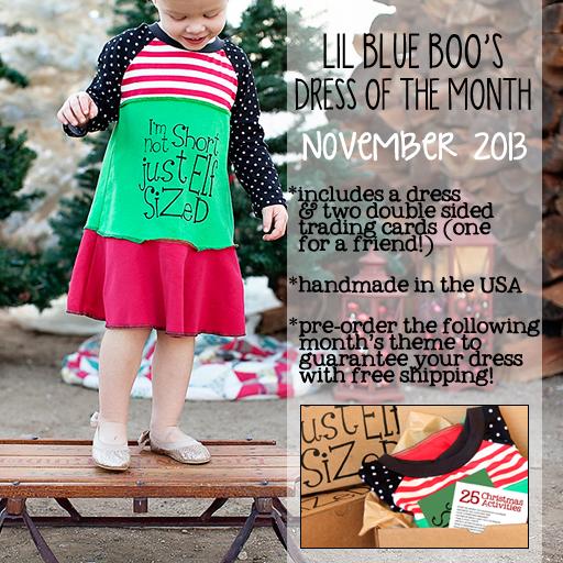 November 2013 Dress of the Month via lilblueboo.com