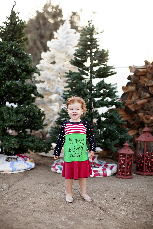 I'm Not Short Just Elf Sized dress via lilblueboo.com