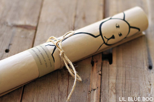 diy wrapping paper ideas (gift ideas) via lilblueboo.com