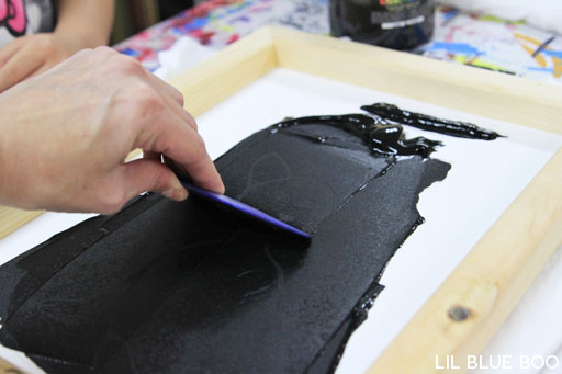 Cheap screen printing tutorial via lilblueboo.com