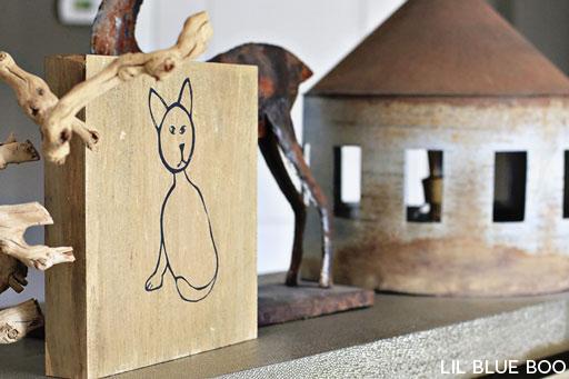 ideas for displaying children artwork via lilblueboo.com