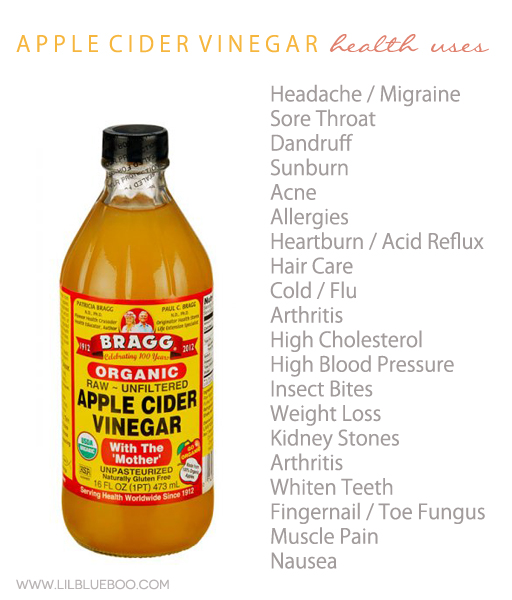 20 Health Uses For Apple Cider Vinegar