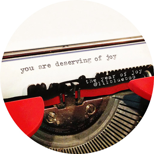 You are DESERVING of Joy. #theyearofjoy The Year of Joy: A 31 day series on joy by Ashley Hackshaw / Lil Blue Boo #quote