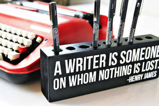 A writer is someone on whom nothing is lost #quote