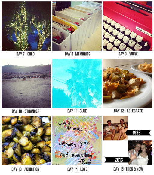 Lil Blue Boo Photo Challenge: Days 7 through 15