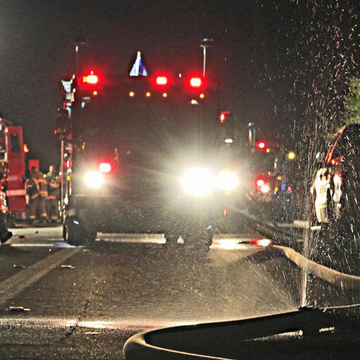 Calfire house fire in south palm desert