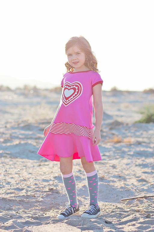 The 2014 Valentine's Day Dress by Lil Blue Boo via Ashley Hackshaw / lilblueboo.com