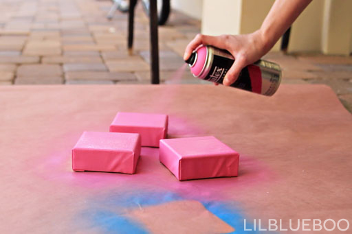 Liquitex spray paint project #roak